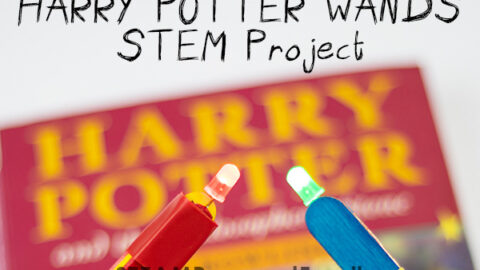 Harry Potter wands STEM project