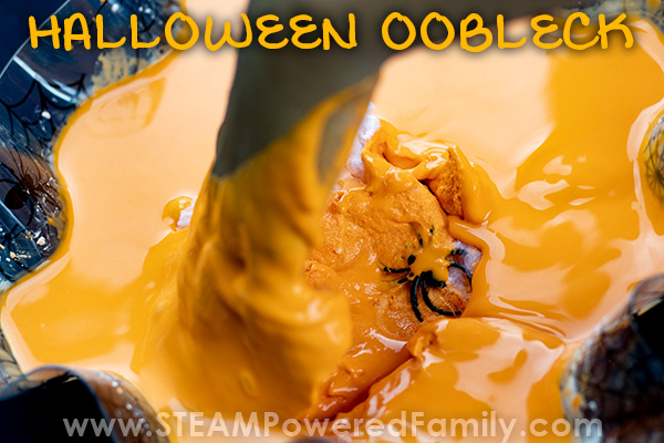 Oobleck Halloween Party Game
