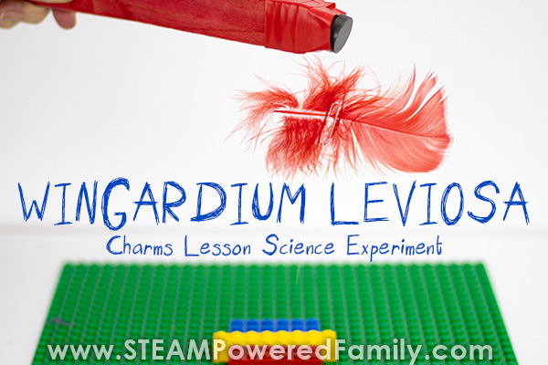 Wingardium Leviosa experiment using magnetism to make a feather levitate