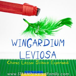 Wingardium Leviosa Science Experiment Make A Feather Levitate