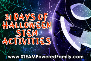 31 Days of Halloween STEM Activities for home or classroom