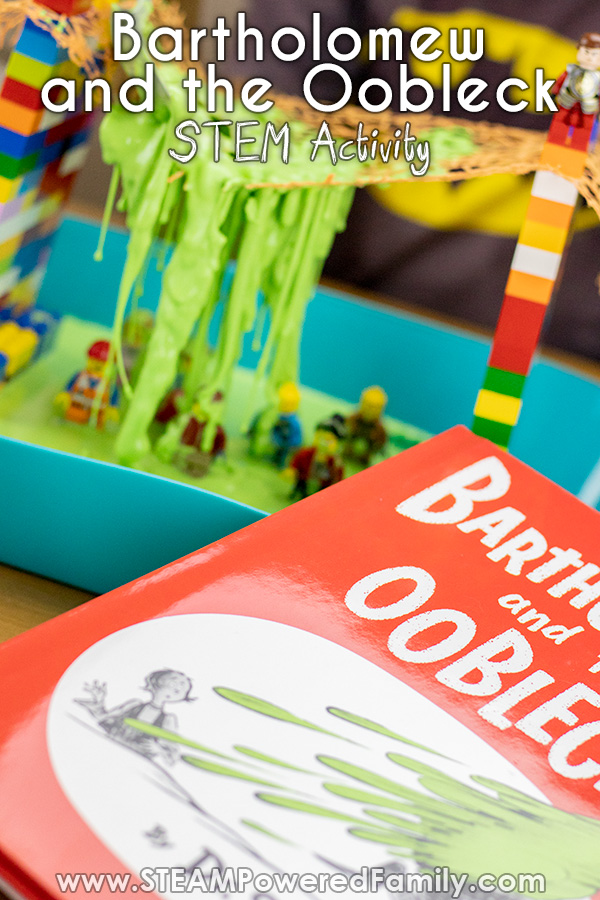 Bartholomew and the Oobleck STEM Activity, unit study inspired by Dr. Seuss