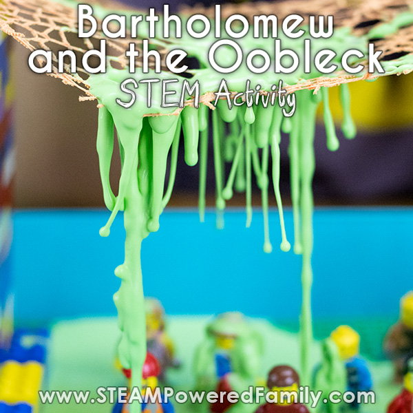 Bartholomew and the Oobleck STEM Activity