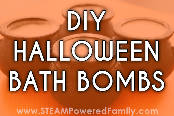 DIY Halloween Bath Bombs