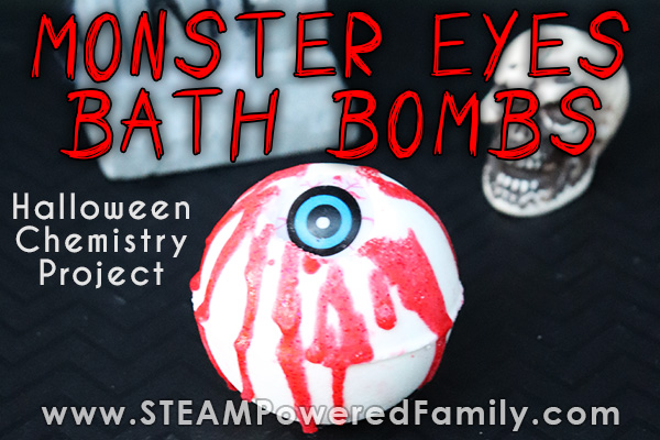 Monster Eye Halloween Bath Bombs