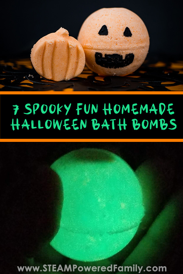 Halloween Bath Bombs Recipes and Directions