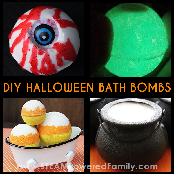 Spookily Perfect DIY Halloween Bath Bombs Your Kids Will Love
