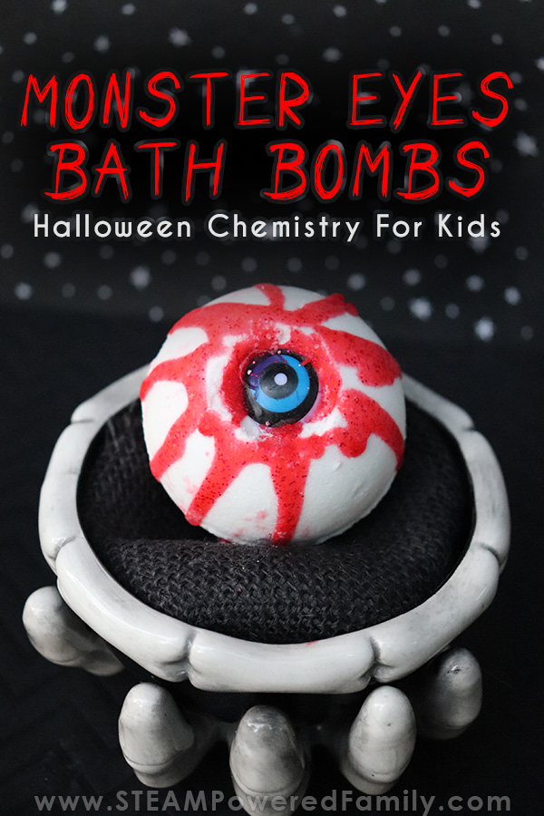 Monster Eye Halloween Bath Bombs For A Spooky Chemistry Lesson