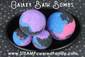 Galaxy Bath Bombs Recipe