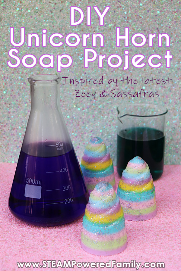 Unicorn Horn Soap Making Project and Bacteria Study