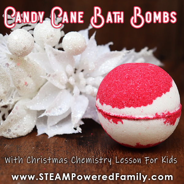 Candy Cane Bath Bomb Recipe