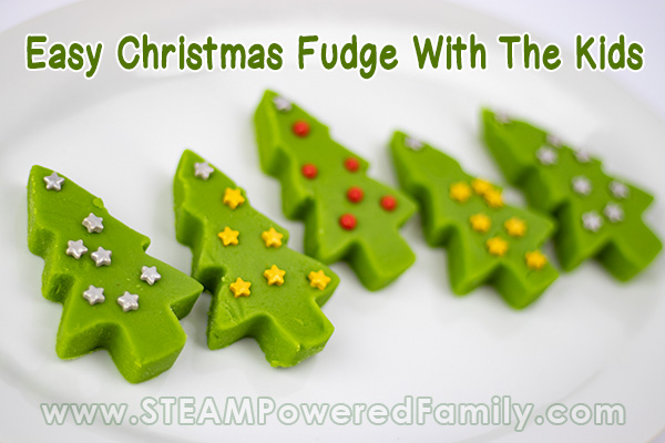 Easy Christmas Fudge Recipe To Make With The Kids
