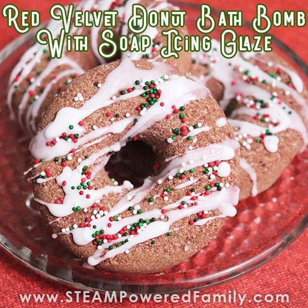 red velvet donut bath bomb recipe