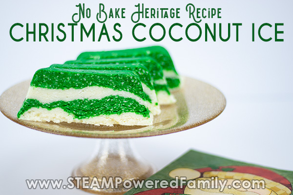 Christmas Coconut Ice Recipe – Great For Kids To Make