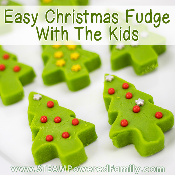 Easy Christmas Tree Fudge Recipe To