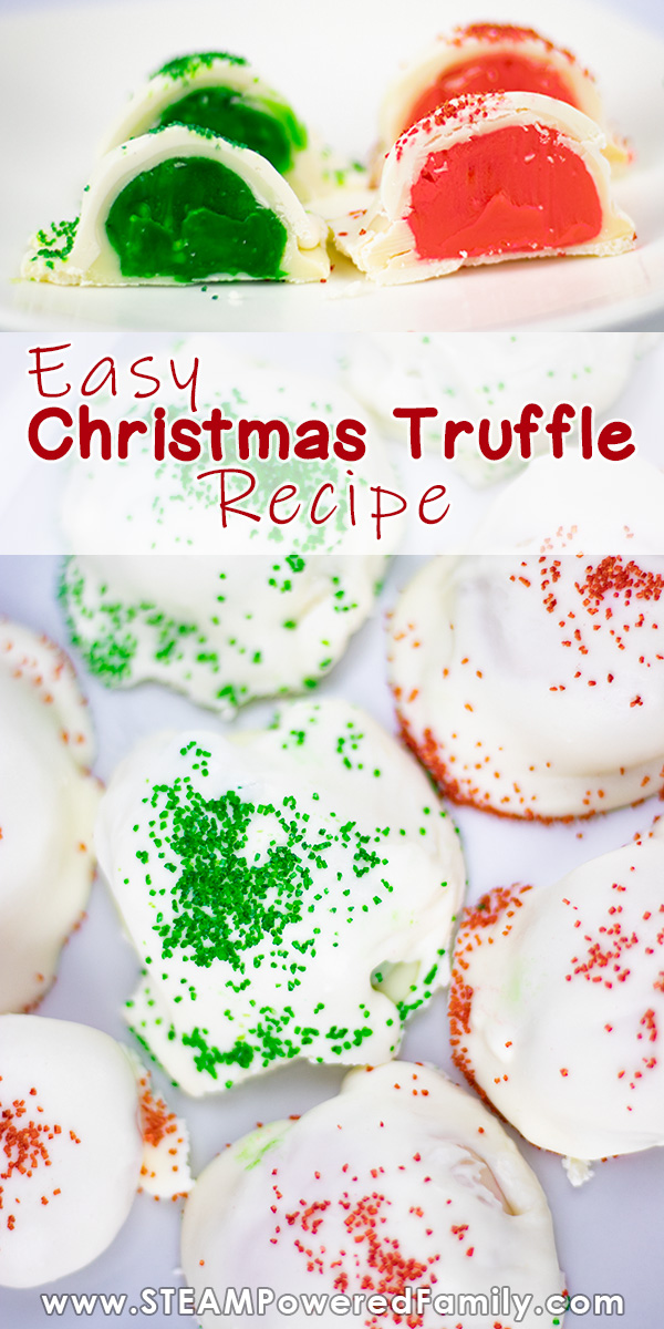 Easy Christmas Truffle Recipe To Make With The Kids This Holiday