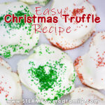 Easy Christmas Truffle Recipe for Kids