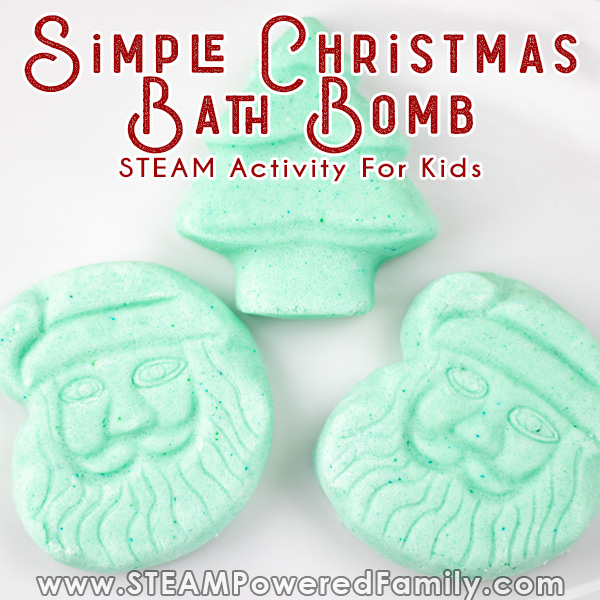 simple santa bath bomb recipe