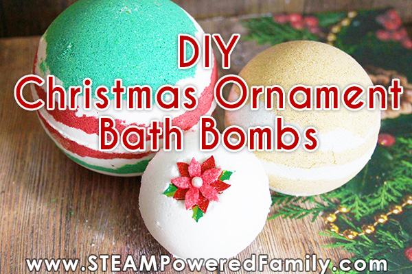 DIY Christmas Bath Bombs