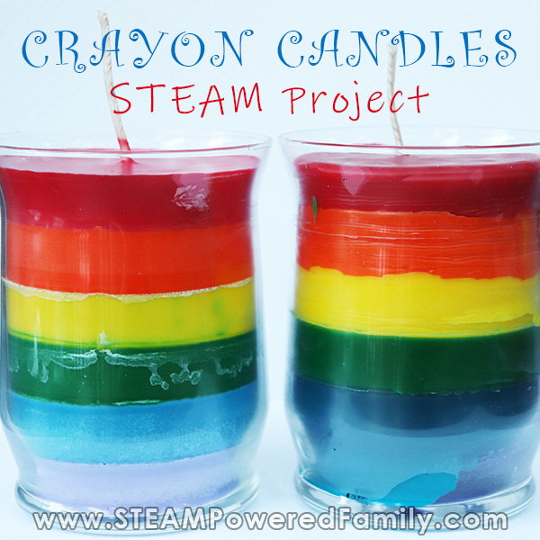 Crayon Candles STEAM Project