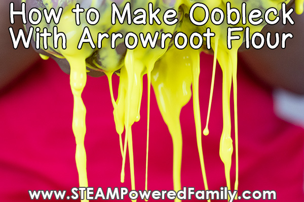 Oobleck recipe without cornstarch using flour instead