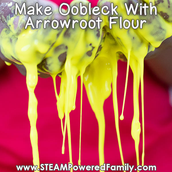 Oobleck recipe with flour