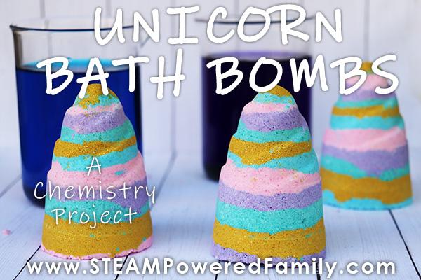 DIY Unicorn Bath Bomb Recipe For Kids