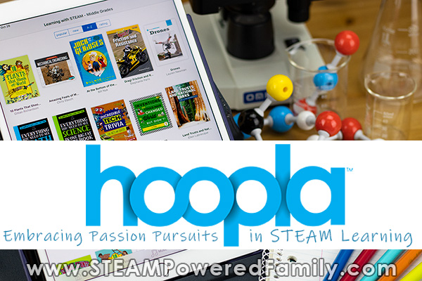 hoopla STEAM education resources for the classroom for free