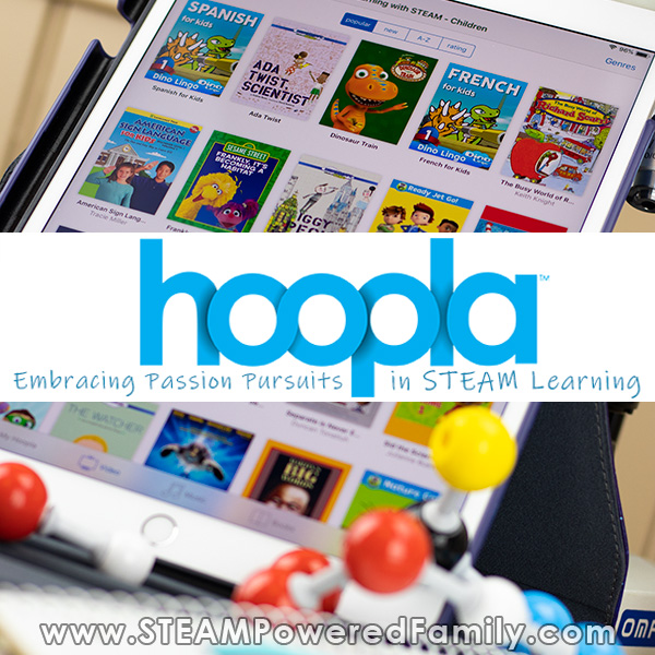 hoopla digital STEAM resources