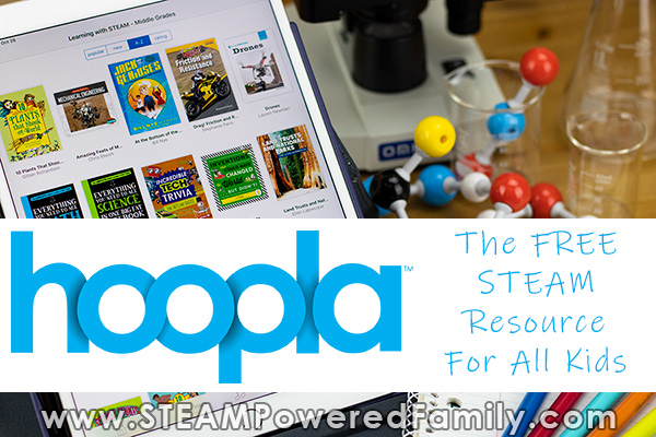 hoopla digital STEAM resources for the classroom