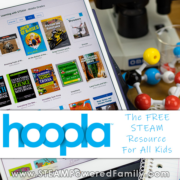hoopla digital STEAM Educational content