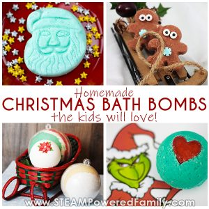 Christmas Bath Bomb Recipes for the Kids