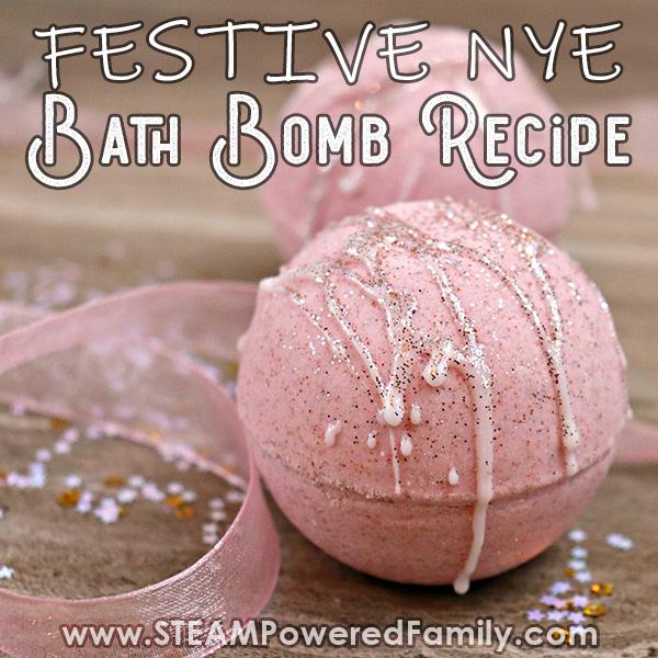 NYE Pink Champagne Bath Bombs