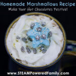Christmas Marshmallows Recipe for hot chocolate