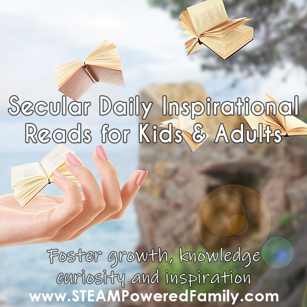 Daily devotional reads for secular families