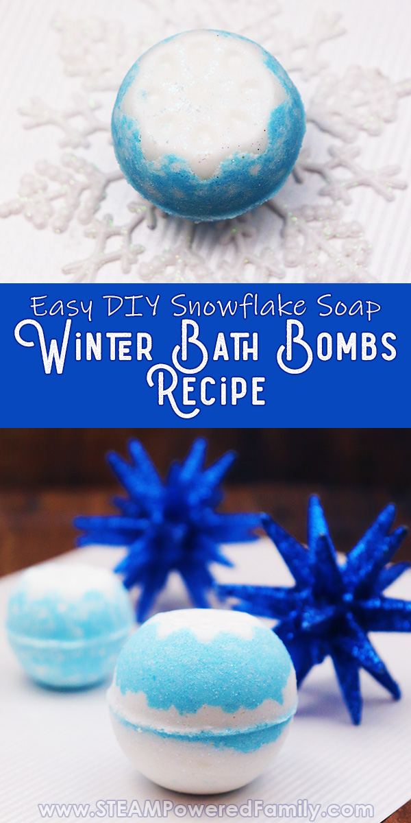 Winter Bath Bombs