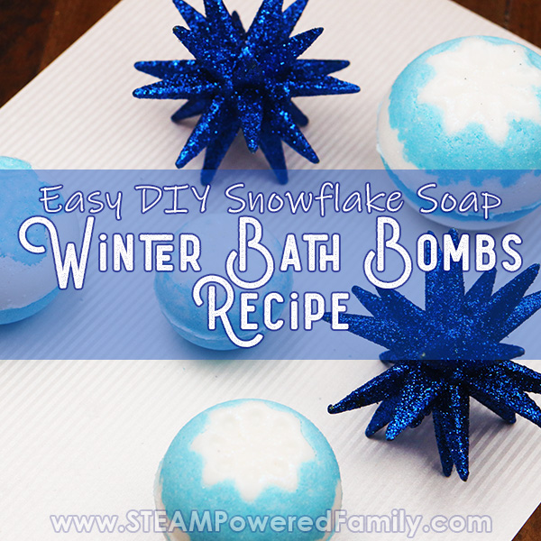 Homemade Winter Bath Bombs