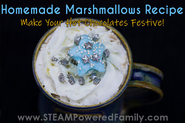 festive homemade marshmallows recipe