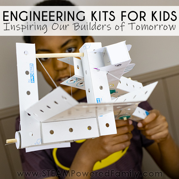 Inspiring our builders of tomorrow with fun engineering kits from Creation Crate Jr.