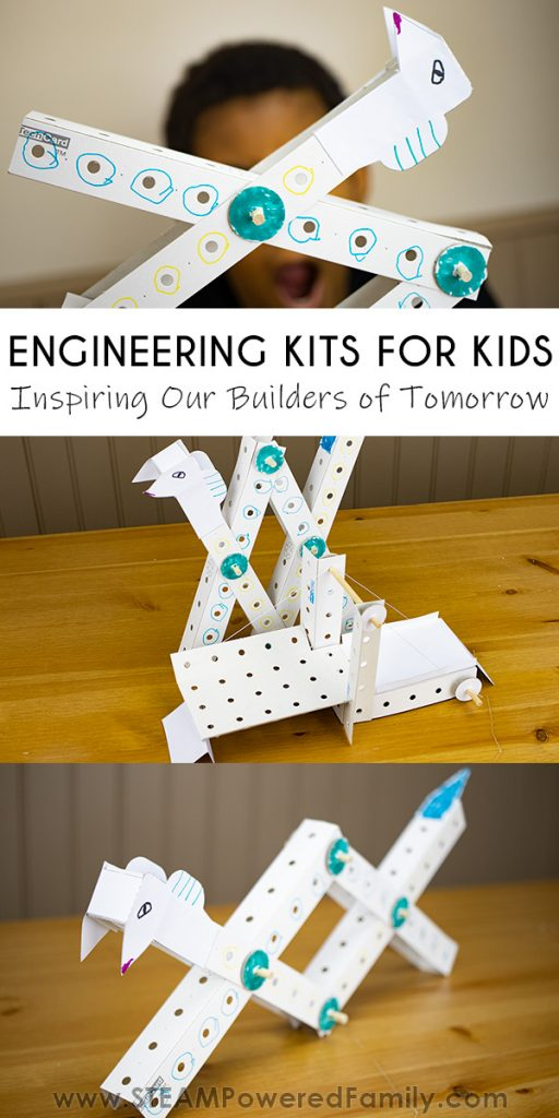Engineering kits to inspire our builders of tomorrow.