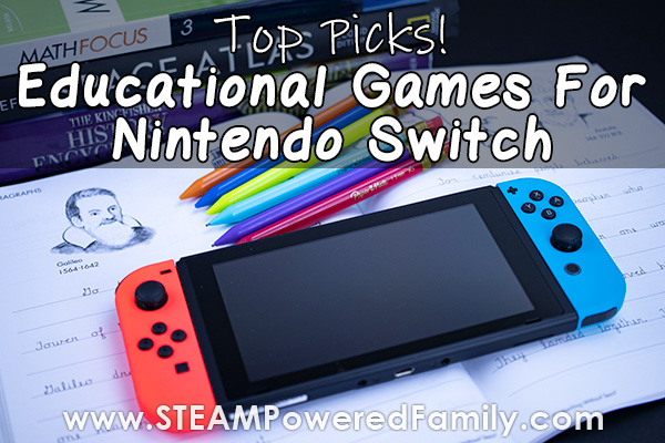 Educational Nintendo Switch Games For Gamified Learning