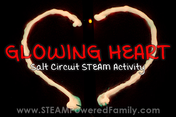 Glow Heart LED Circuit Activity