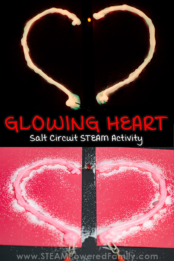 Valentine's Day Heart Circuit Activity for Kids