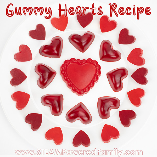 Heart Homemade Gummies