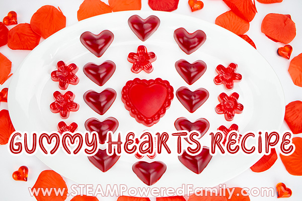 Gummy Heart Recipe Science For Valentine's Day