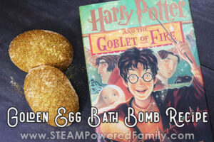 Harry Potter Bath Bomb Recipe