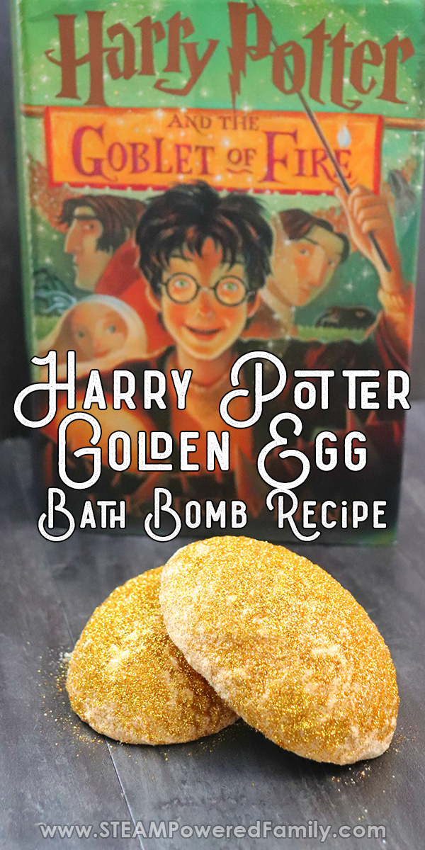 Harry Potter Golden Egg Bath Bombs from Triwizard Tournament