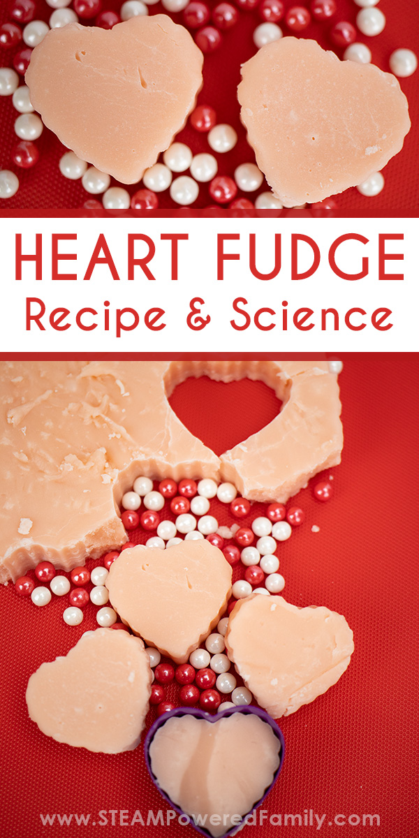 Valentine's Day Heart Fudge Recipe