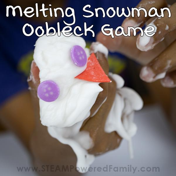 Melting Snowman Oobleck