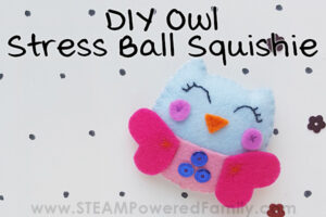 Owl Stress Ball Squishie for Teens